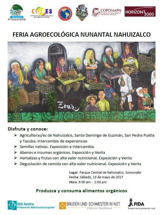 feria agroecologica nunantal nahuizalco