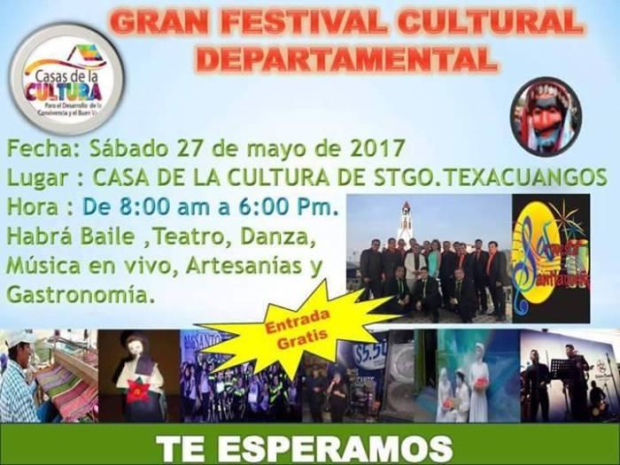 festival cultural santiago texacuangos