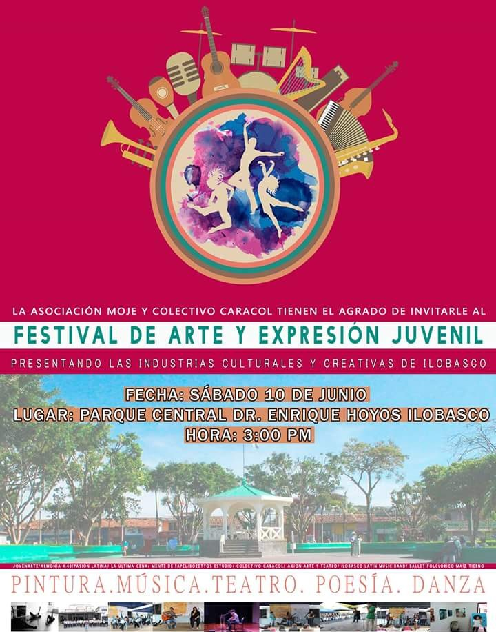 festival de arte y expresion juvenil ilobasco