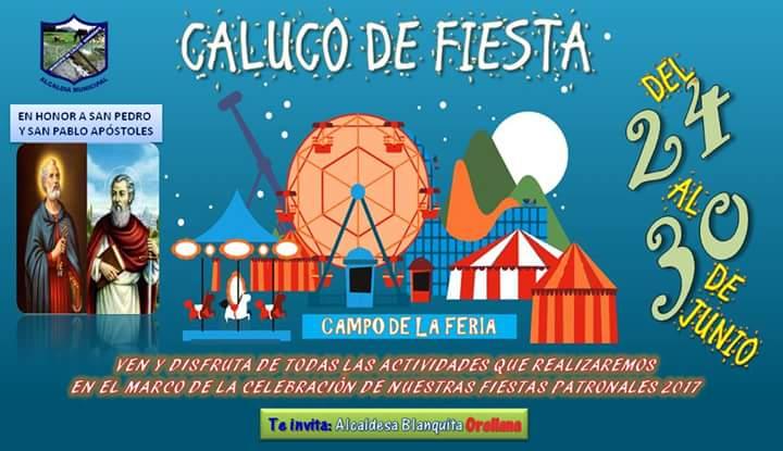 fiestas Caluco 2017