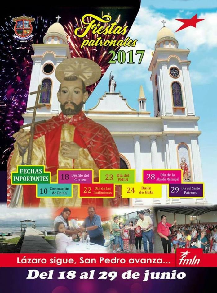 fiestas San Pedro Perulapan