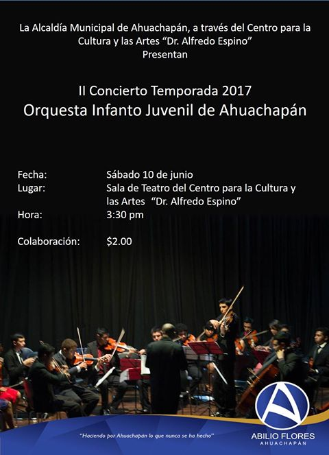orquesta infanto juvenil ahuachapan