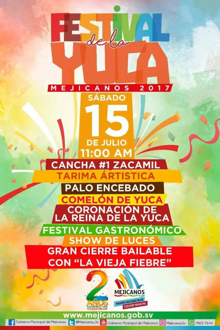 festival de la yuca mejicanos