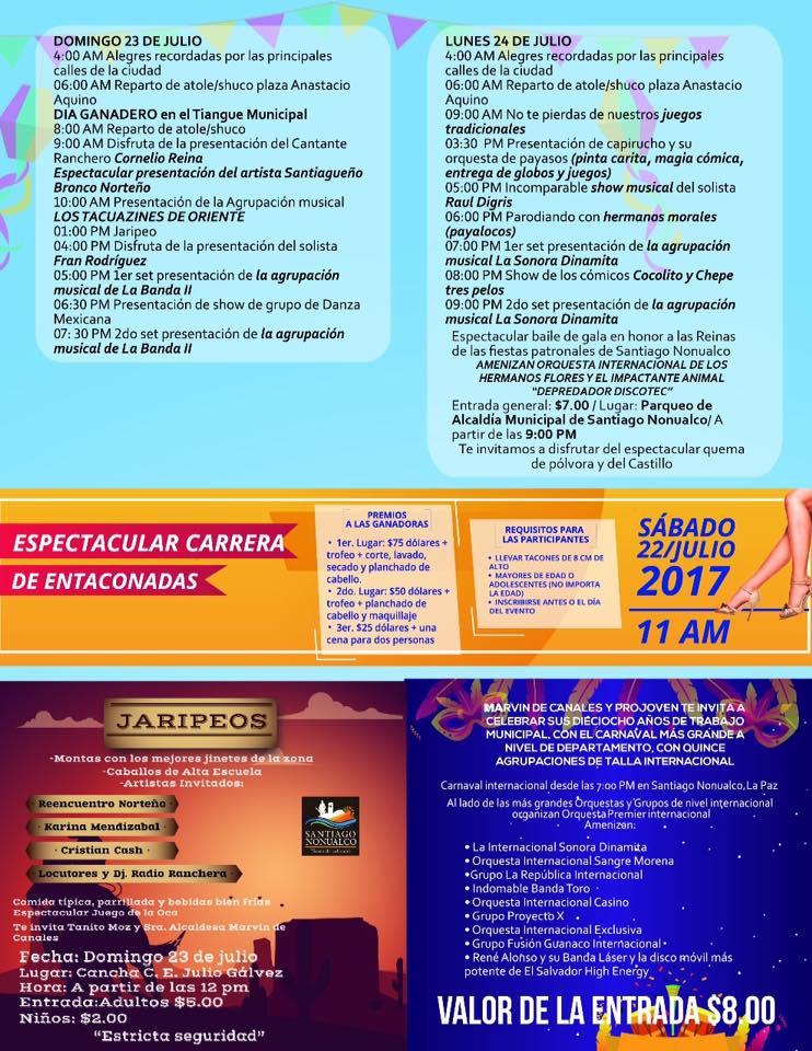 Fiestas Santiago Nonualco 2017 09