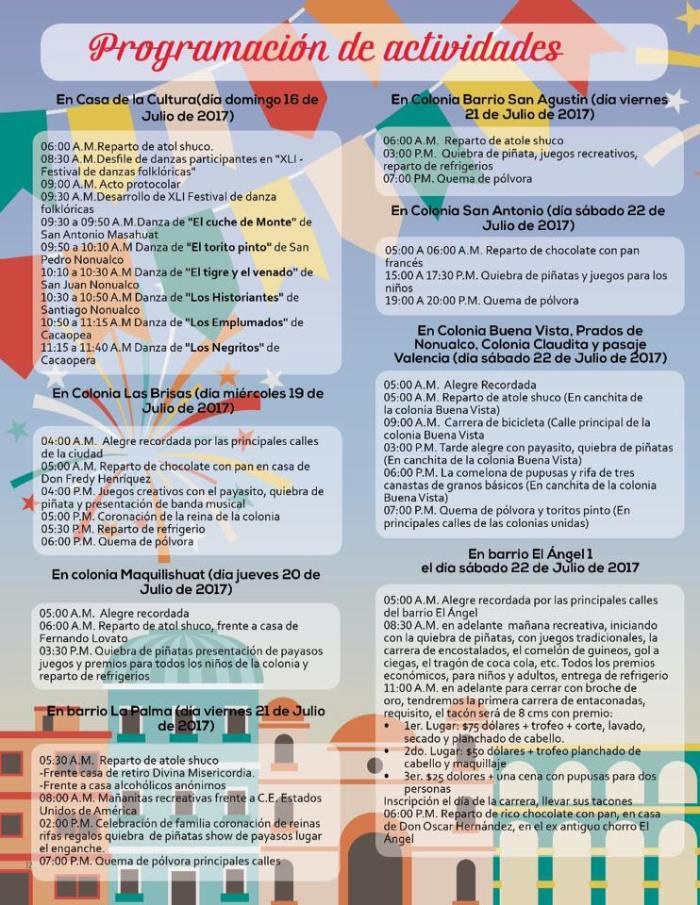 Fiestas Santiago Nonualco 2017 10