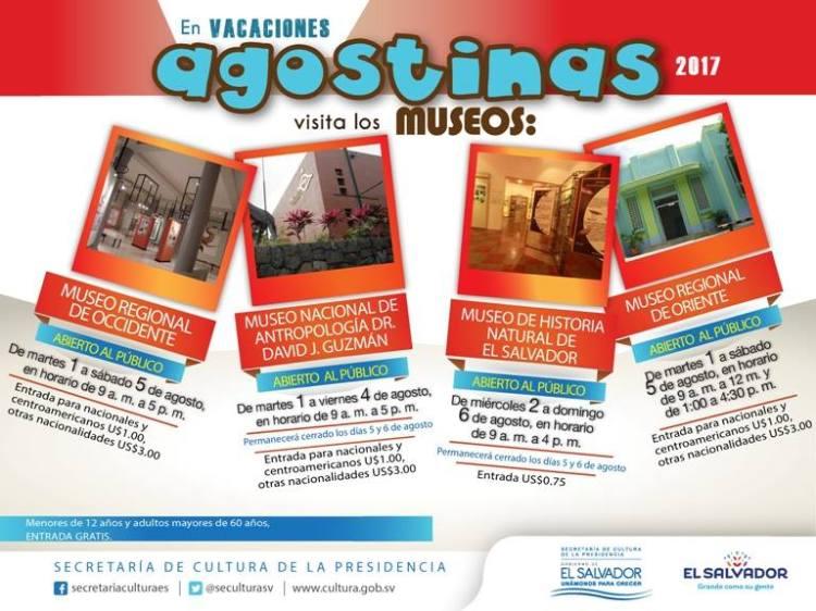horario de museos