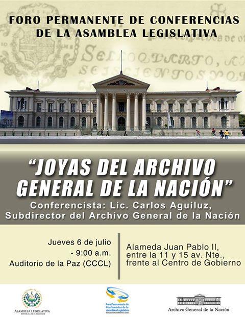 joyas del archivo general de la nacion