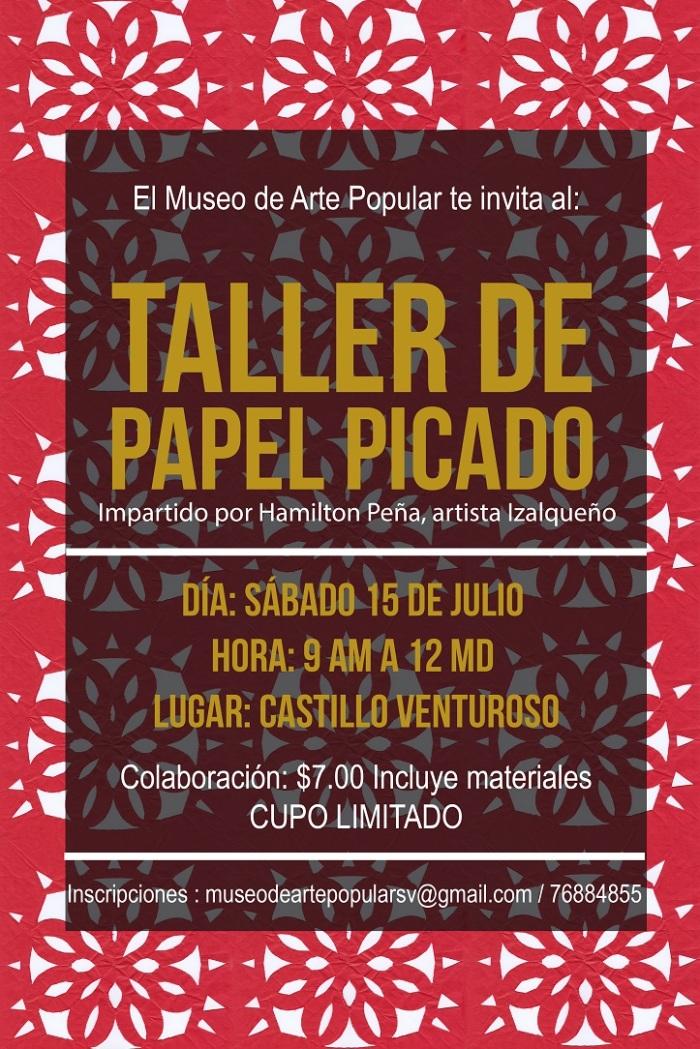 TALLER DE PAPEL PICADO