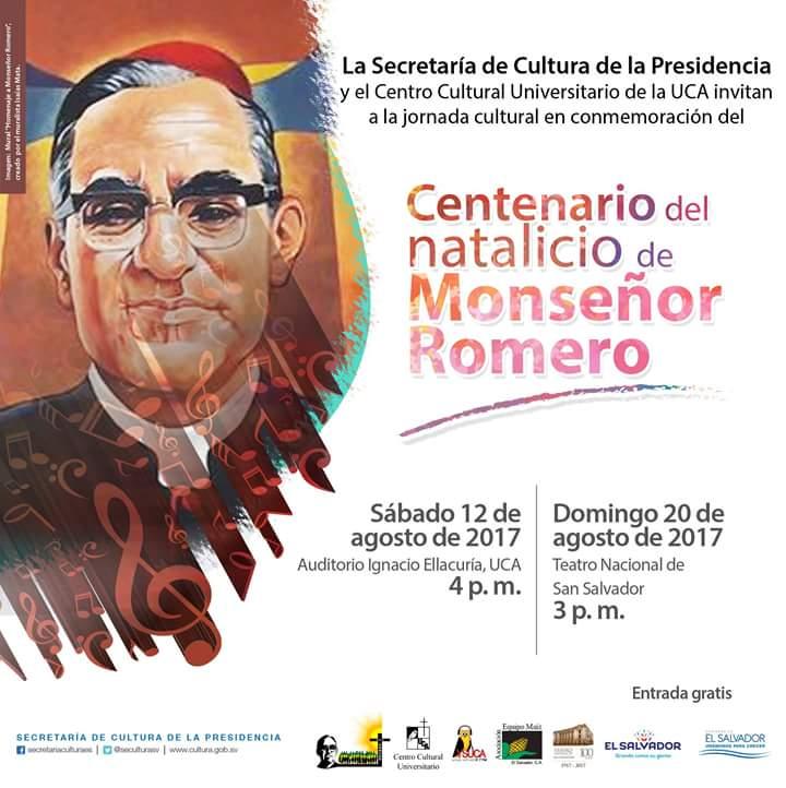 centenario del natalicio de monseñor romero
