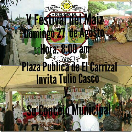 festival del maiz Carrizal