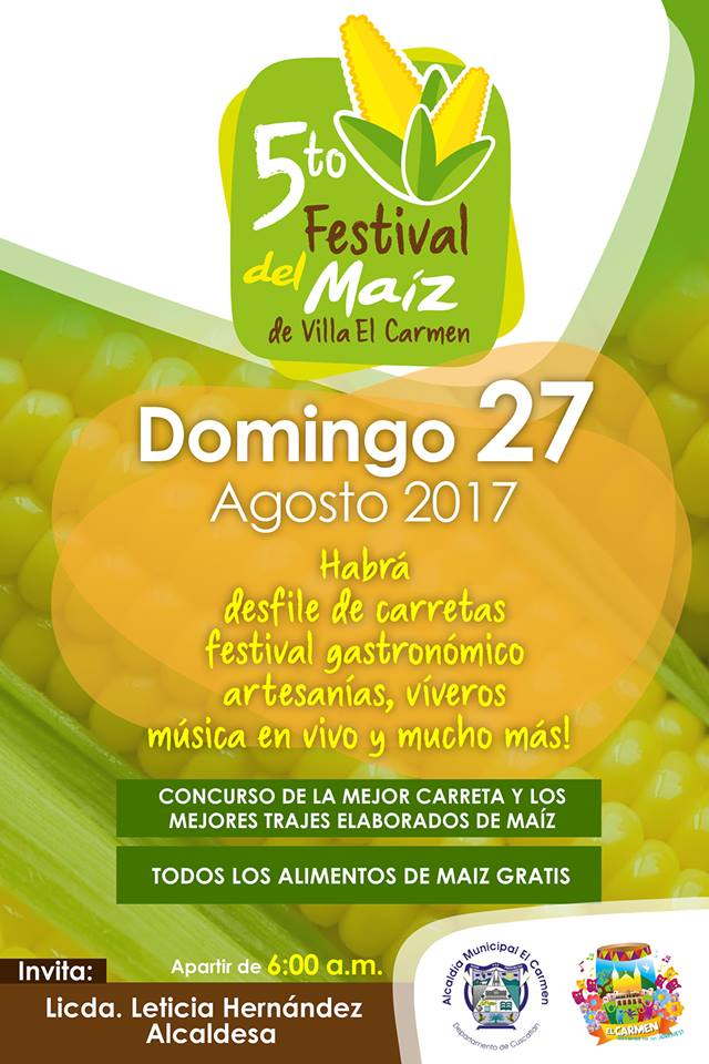 festival del maiz villa el carmen