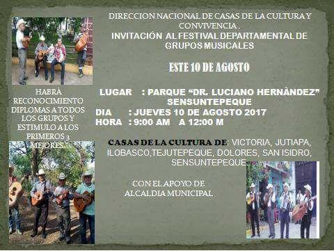 festival departamental sensuntepeque