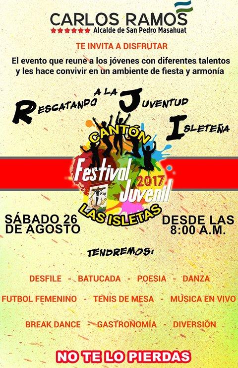 festival juvenil las isletas