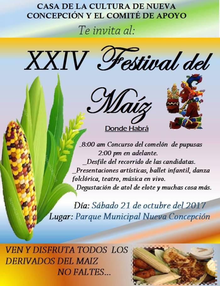festival del maiz nueva concepcion