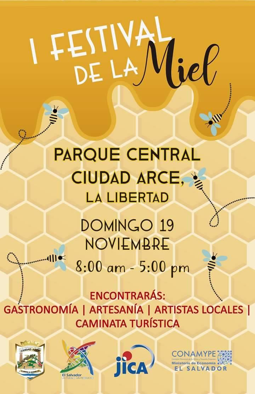 festival de la miel ciudad arce