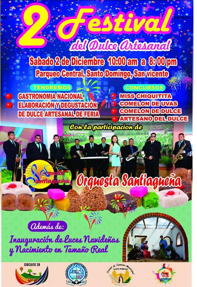 festival del dulce artesanal santo domingo